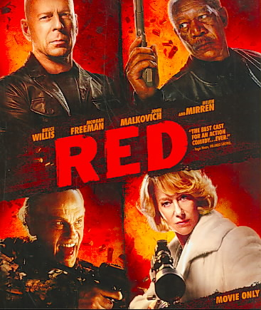 RED BY WILLIS,BRUCE (Blu-Ray)